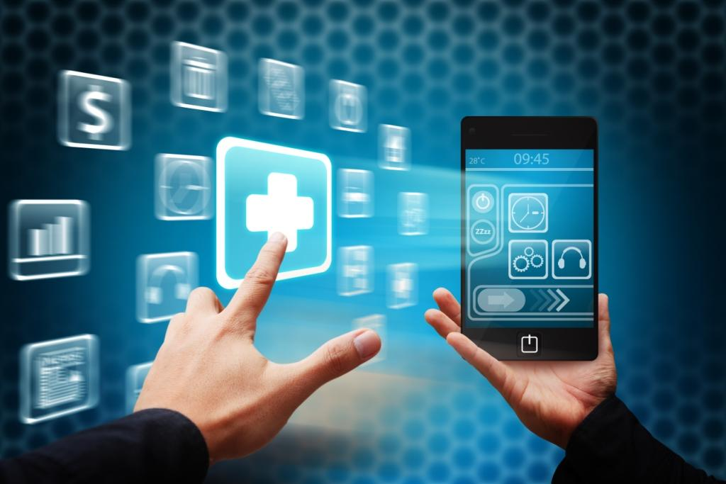 hands-clicking-on-health-smartphone-app